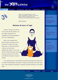 The Yoga Centre Homepage